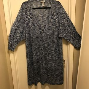Catherines cardigan duster style plus size 26/28